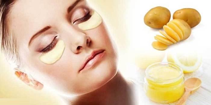 درمان خانگی برای رفع تیرگی پوست صورت و گردن