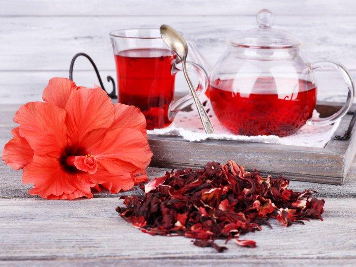 ۱۲خواص و عوارض چای ترش برای پوست و سلامتی