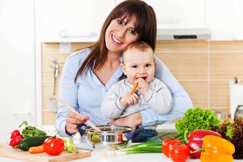 رژيم شیردهی سالم روزانه برای مادران شیرده