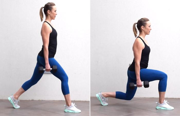 حرکت هفتم: کیک دانکی برای انجام این حرکت چهار دست و پا شوید به گونه ای که آرنج تان درست در زیر شانههایتان قرار گیرد.